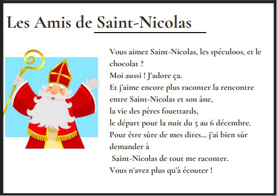 les amis de Saint-Nicolas